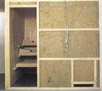 kann ich eine sauna mit styropor d mmen der sauna heimwerker. Black Bedroom Furniture Sets. Home Design Ideas